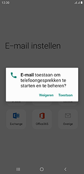Samsung Galaxy J6 Plus - E-mail - e-mail instellen (outlook) - Stap 10