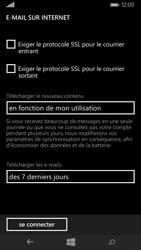 Nokia Lumia 735 - E-mail - Configurer l