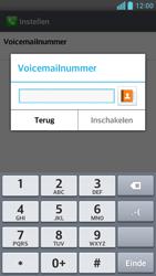 LG D505 Optimus F6 - voicemail - handmatig instellen - stap 8