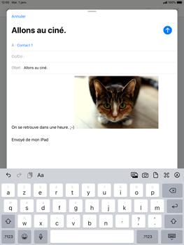 Apple iPad Pro (9.7) - iPadOS 13 - E-mail - envoyer un e-mail - Étape 14