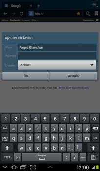 Samsung P3100 Galaxy Tab 2 7-0 - Internet - Navigation sur Internet - Étape 7