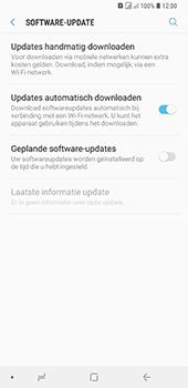 Samsung Galaxy A9 (2018) - software - update installeren zonder pc - stap 5