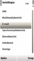 Nokia 5230 - e-mail - handmatig instellen - stap 5