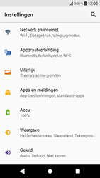 Sony Xperia XZ - Android Oreo - Internet - aan- of uitzetten - Stap 4