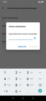OnePlus 6T - Anrufe - Rufumleitungen setzen und löschen - 11 / 14