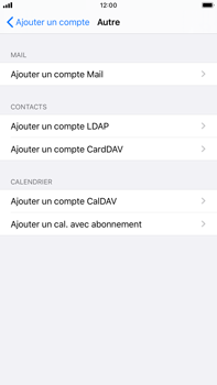 Apple iPhone 8 Plus - iOS 13 - E-mail - configuration manuelle - Étape 6