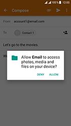 ZTE Blade V8 - E-mail - Sending emails - Step 11