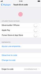 Apple iPhone 6 - iOS 11 - Sécuriser votre mobile - Activer le code de verrouillage - Étape 8