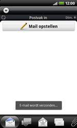 HTC A7272 Desire Z - e-mail - hoe te versturen - stap 11