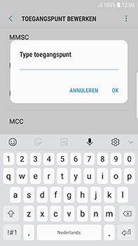 Samsung Galaxy S7 Edge - Android Oreo - MMS - handmatig instellen - Stap 12