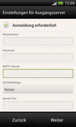 HTC Desire X - E-Mail - Manuelle Konfiguration - Schritt 14