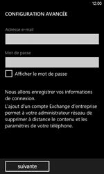 HTC Windows Phone 8S - E-mail - Configuration manuelle - Étape 7