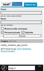 Nokia Lumia 800 / Lumia 900 - Internet e roaming dati - Uso di Internet - Fase 15