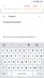 Samsung A320F Galaxy A3 (2017) - Android Oreo - E-mail - Sending emails - Step 10