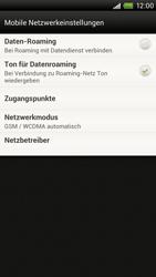HTC One X - Internet - Manuelle Konfiguration - 6 / 23