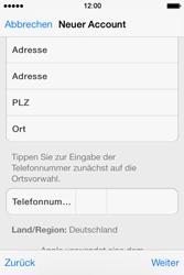 Apple iPhone 4 S mit iOS 7 - Apps - Konto anlegen und einrichten - Schritt 33