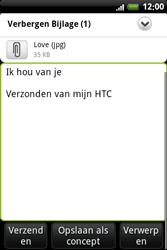 HTC A6363 Legend - e-mail - hoe te versturen - stap 13