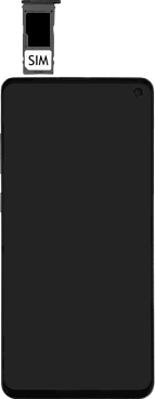 Samsung Galaxy S10e - SIM-Karte - Einlegen - Schritt 5