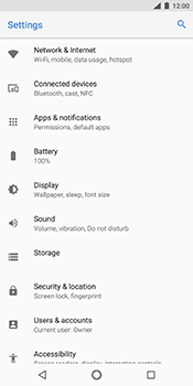 Nokia 7 Plus - Internet - Manual configuration - Step 4