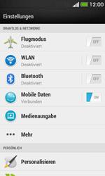 HTC Desire 500 - MMS - Manuelle Konfiguration - 4 / 19