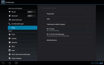 Asus Padfone - Ausland - Im Ausland surfen – Datenroaming - Schritt 4