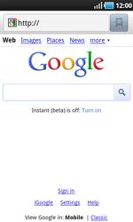 Samsung I9000 Galaxy S - Internet - Internet browsing - Step 6