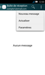 Huawei Y3 - E-mail - envoyer un e-mail - Étape 4