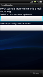 Sony Ericsson MT15i Xperia Neo - E-mail - handmatig instellen - Stap 10