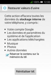 Alcatel Pixi 3 (3.5) - Téléphone mobile - Réinitialisation de la configuration d