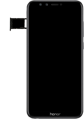 Huawei Honor 9 Lite - SIM-Karte - Einlegen - 6 / 8