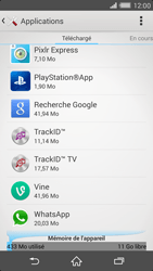 Sony Xperia Z2 - Applications - Comment désinstaller une application - Étape 5