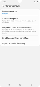 Samsung Galaxy A50 - Prise en main - Comment ajouter une langue de clavier - Étape 8