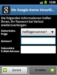 Samsung Galaxy Y - Apps - Konto anlegen und einrichten - 11 / 21