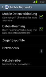 Samsung Galaxy Trend Lite - Internet und Datenroaming - Deaktivieren von Datenroaming - Schritt 6