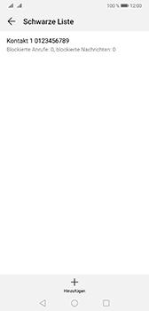 Huawei Mate 20 - Anrufe - Anrufe blockieren - Schritt 11