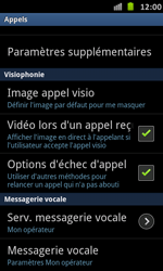 Samsung I9070 Galaxy S Advance - Messagerie vocale - Configuration manuelle - Étape 5