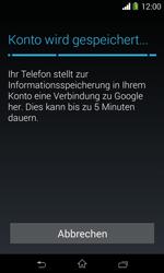 Sony Xperia E1 - Apps - Konto anlegen und einrichten - 20 / 23