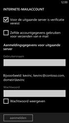 HTC Windows Phone 8X - E-mail - handmatig instellen - Stap 14