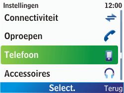 Nokia C3-00 - Buitenland - Bellen, sms en internet - Stap 4