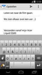 Acer Liquid E600 - E-mail - E-mails verzenden - Stap 9