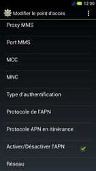 Acer Liquid E3 - Internet - Configuration manuelle - Étape 15