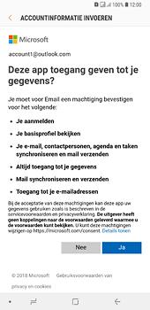 Samsung Galaxy A6 Plus - e-mail - handmatig instellen - stap 9