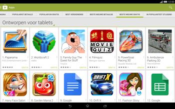 Sony Xperia Tablet Z2 4G (SGP521) - Applicaties - Downloaden - Stap 11