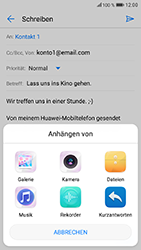 Huawei Honor 9 - E-Mail - E-Mail versenden - 12 / 19