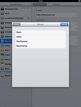 Apple iPad 2 - E-mail - Handmatig instellen - Stap 7