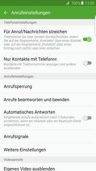 Samsung Galaxy S6 edge+ - Anrufe - Anrufe blockieren - 6 / 12