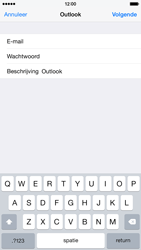 Apple iPhone 6 - E-mail - Handmatig instellen (outlook) - Stap 7