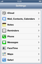 Apple iPhone 4 - E-mail - Manual configuration - Step 7