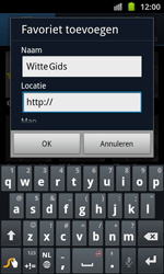 Samsung I8530 Galaxy Beam - Internet - internetten - Stap 8