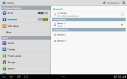 Samsung Galaxy Tab 2 10.1 - Bluetooth - Connecting devices - Step 8